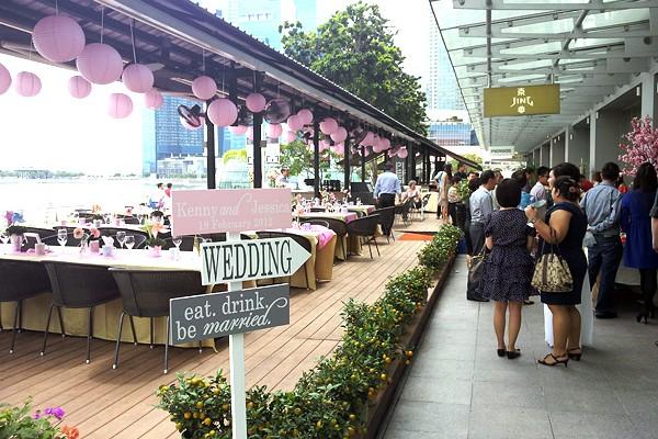 Wedding at Jing, One Fullerton