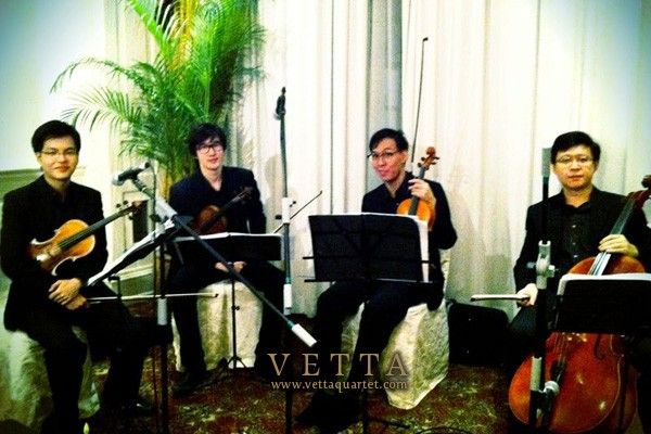String Quartet for Malaysia-Singapore Public Service Games Dinner