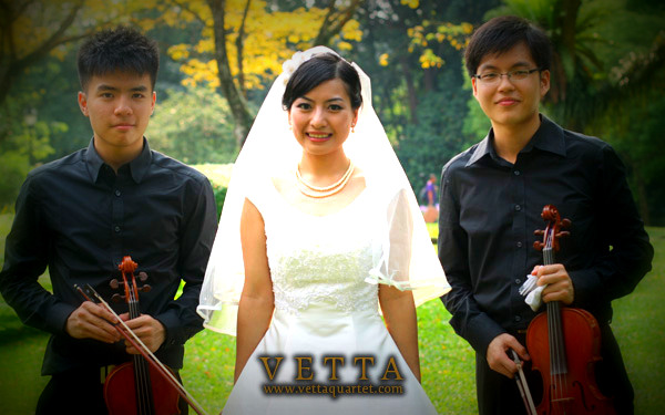 Violin Duet for Wedding at Botanical Gardens