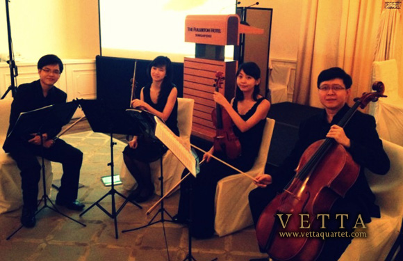 string quartet at fullerton singapore