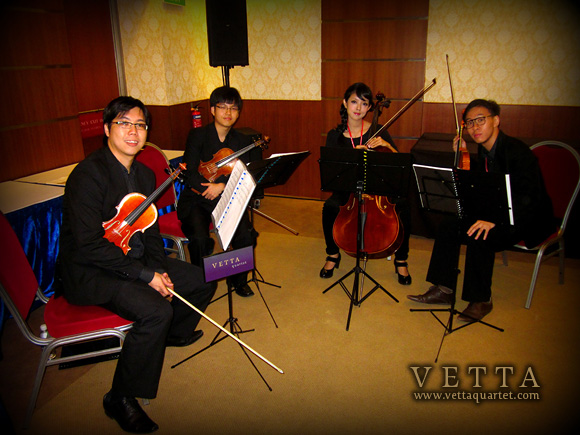 String Quartet for Li-Ning Singapore Open 2012 welcome reception