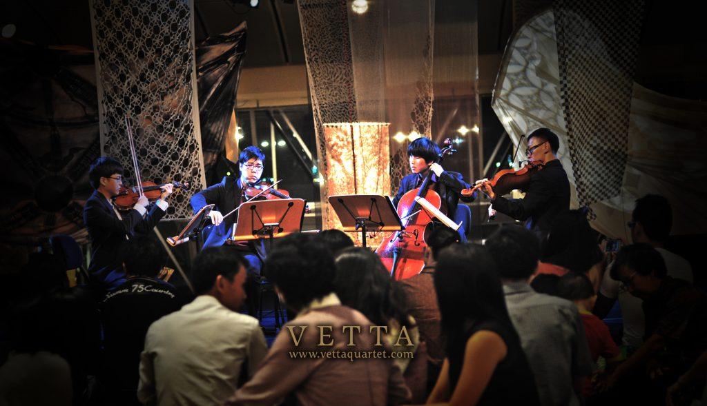 Vetta Quartet at Esplanade Singapore