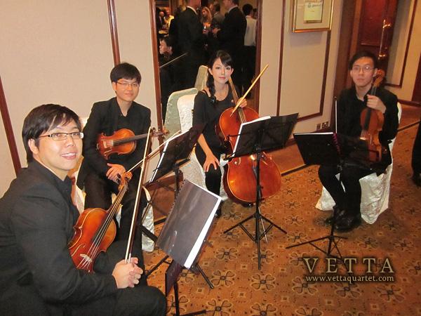 Vetta Quartet, Orchard Hotel