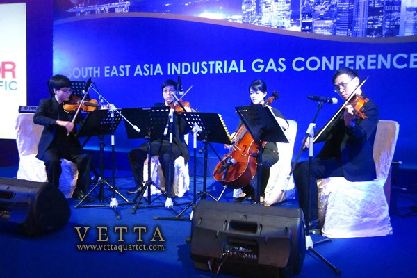 String Quartet for gasworld Conference, Orchard Hotel