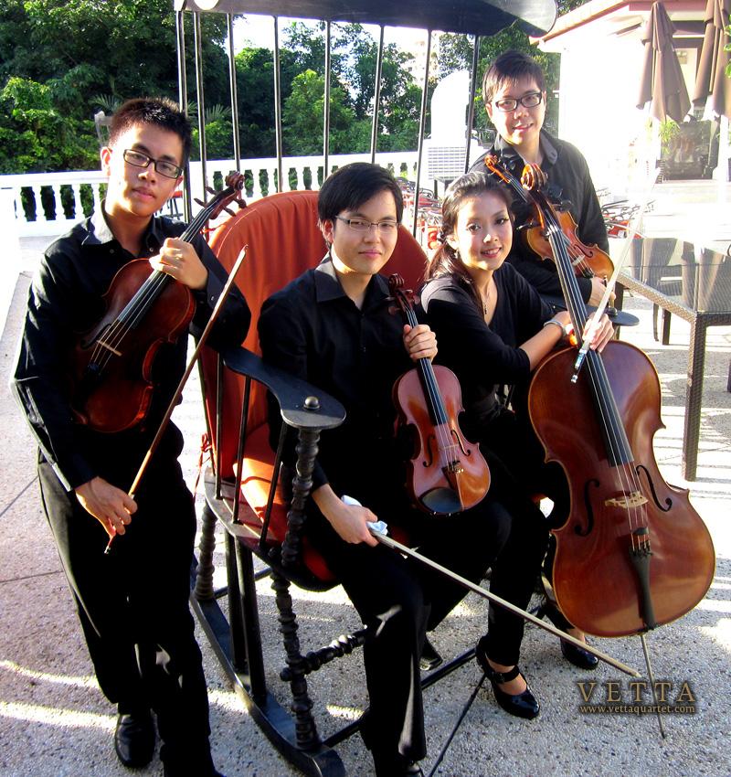 Wedding String Quartet, Alkaff Mansion Singapore