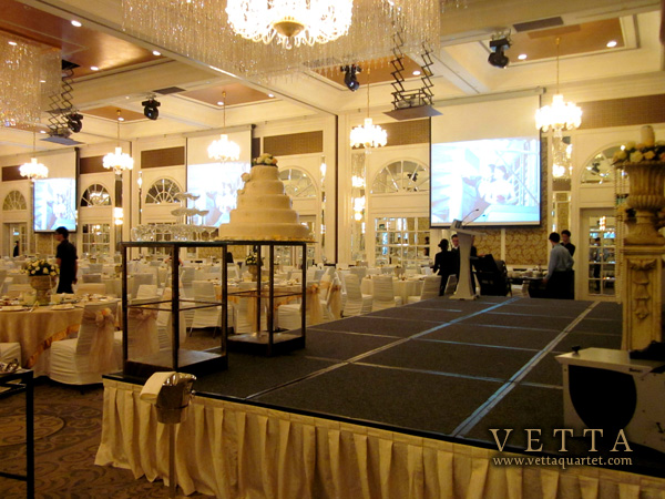 Wedding at InterContinental Singapore