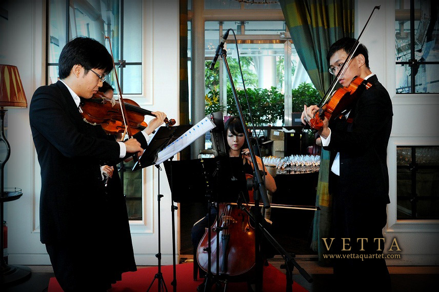 Vetta Quartet at Fullerton Bay Hotel Singapore