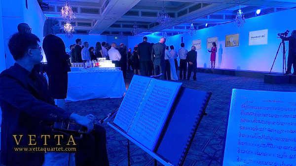String Quartet on standby for Product Launch