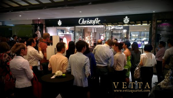 Christofle Store Re-Opening in Singapore