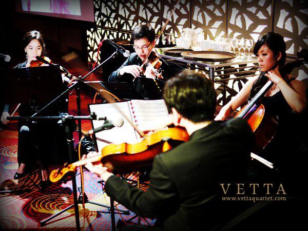 String Quartet for Wedding at Mandarin Orchard Singapore