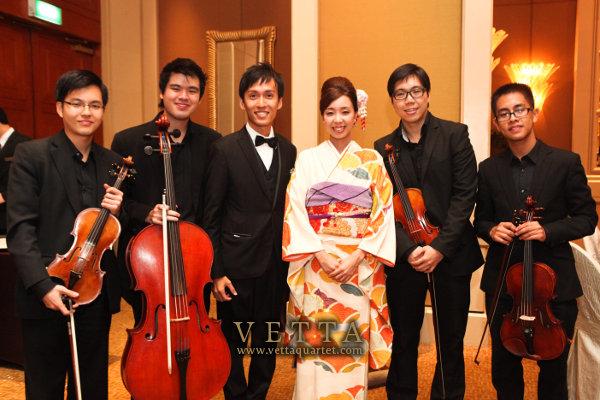 Wedding String Quartet at Conrad Centennial Singapore