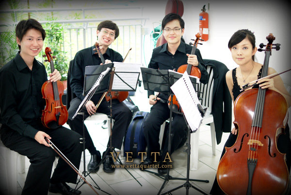 String Quartet at Singapore Church