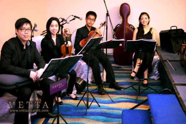 Pan Pacific Singapore Wedding - String Quartet