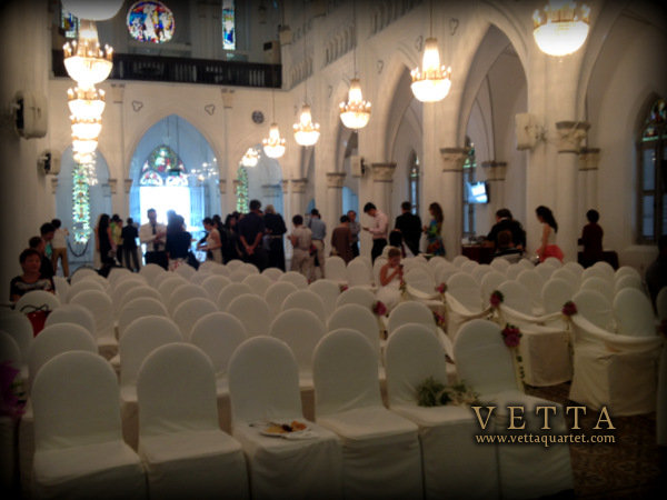 Church Wedding - CHIJMES Singapore