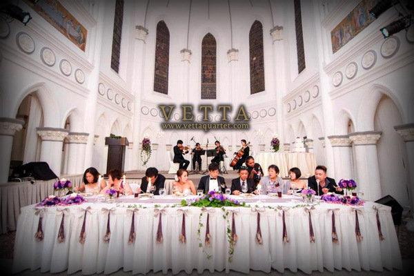 Wedding at CHIJMES - String Quartet