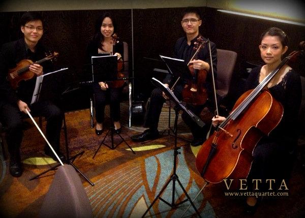 W Hotel Singapore Wedding String Quartet