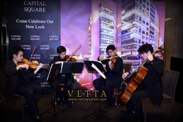 Capital Square Launch - String Quartet Singapore
