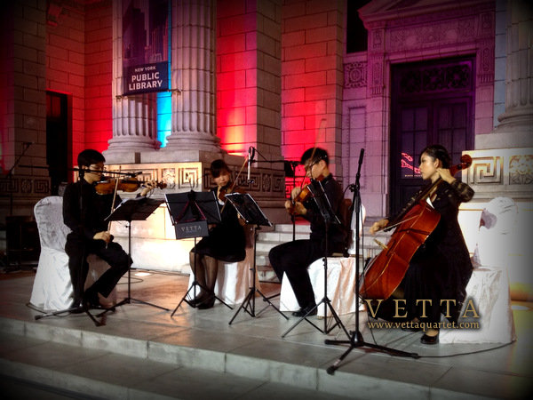 Wedding String Quartet at Universal Studios Singapore