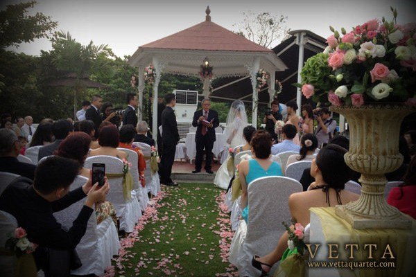Wedding at Alkaff Mansion