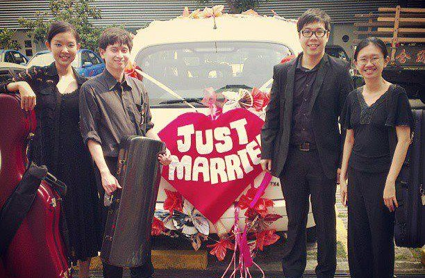 Wedding at St Hilda's Church