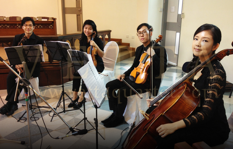 Singapore String Quartet - Methodist Church Wedding