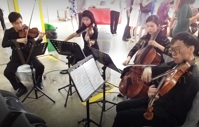 String Quartet Singapore - Methodist Church Wedding