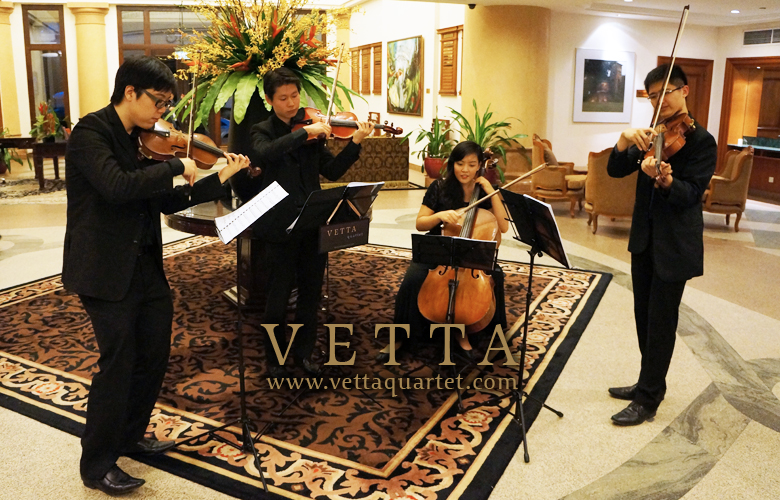 Singapore String Quartet - Function Sentosa