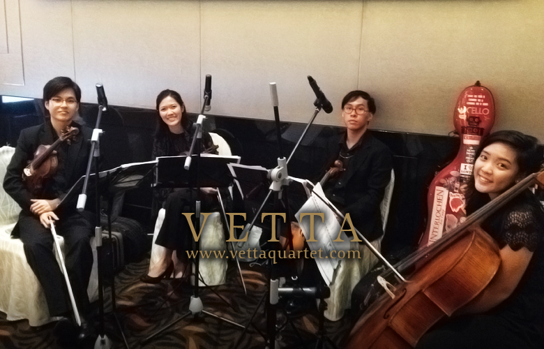 Novotel Singapore - quartet music event