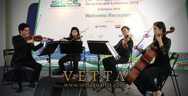 Welcome Reception of Singapore International Transport Congress and Exhibition (SITCE) 2013
