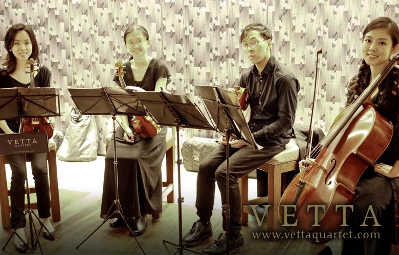 Music Quartet - Grand Hyatt singapore