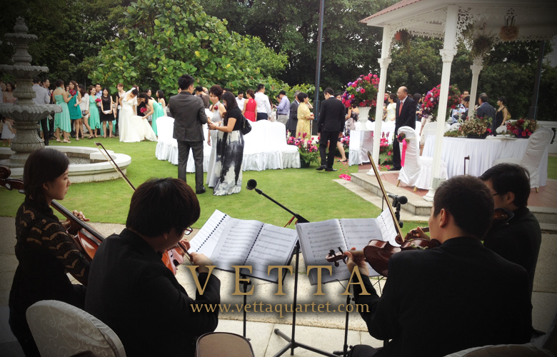 Alkaff Mansion - Wedding Performance - String Quartet