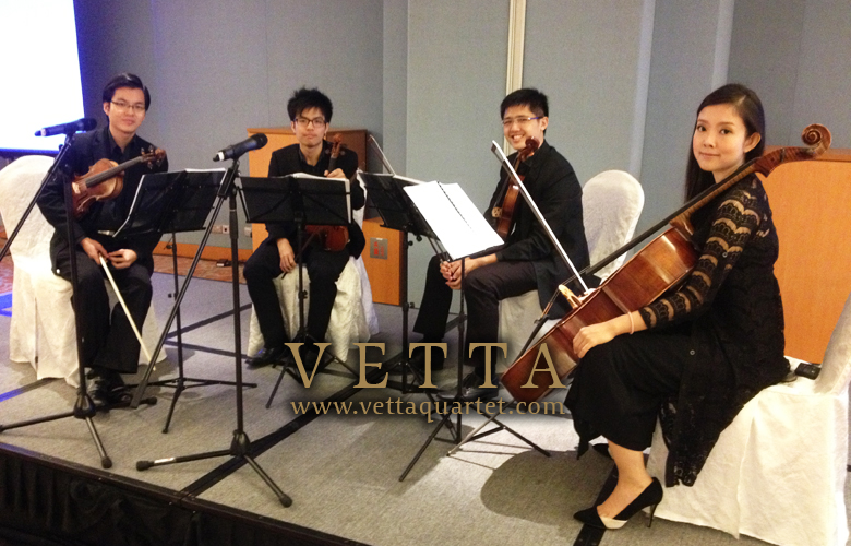 String Quartet Singapore - Resort World Sentosa - Tan Tock Seng Hospital