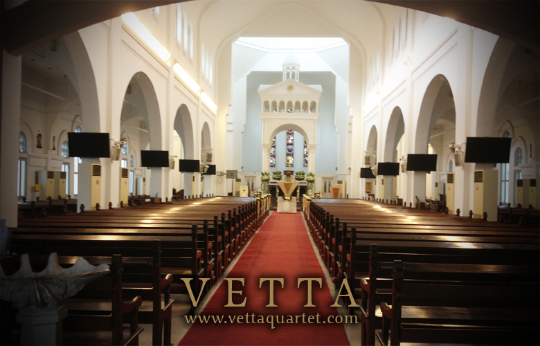 Wedding Performance - String Quartet Singapore - St Teresa Church