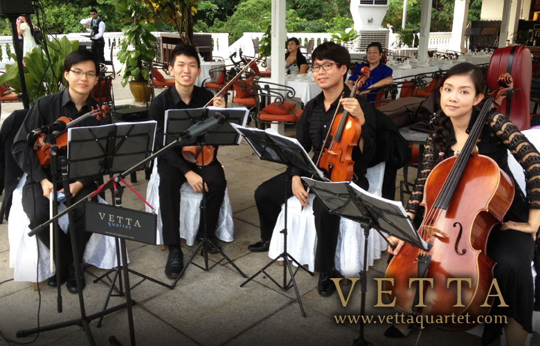 Wedding Singapore - Quartet - Alkaff Mansion