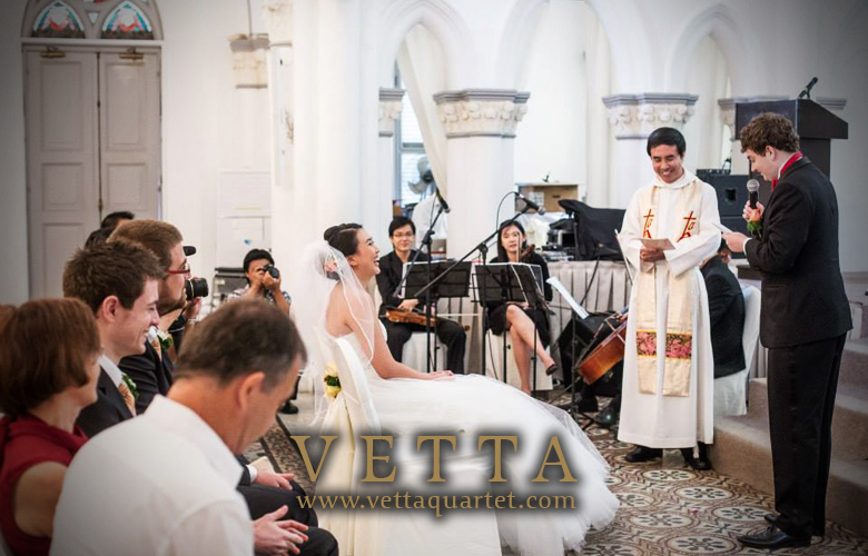 Singapore Quartet - Wedding CHIJMES