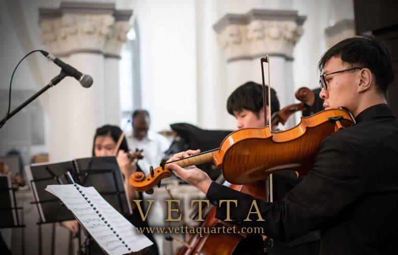 Wedding Music - String Quartet Performance - CHIJMES