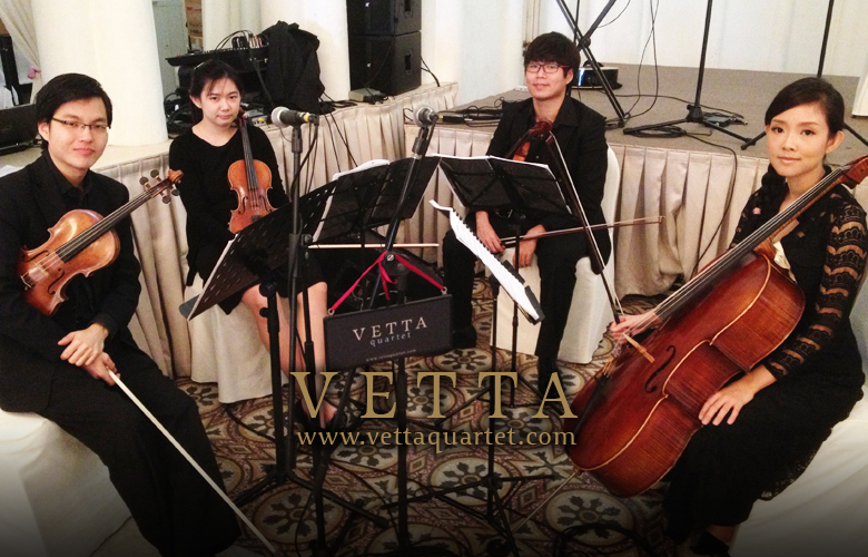CHIJMES Wedding Music - String Quartet Singapore