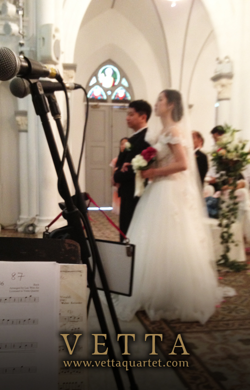 Wedding Performance - CHIJMES - String Quartet