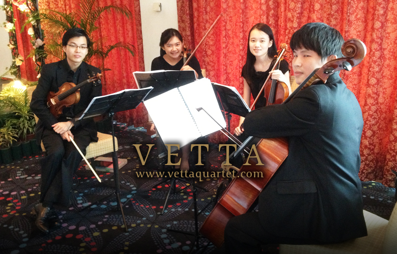 String Quartet Singapore - Wedding at Orchid Country Club