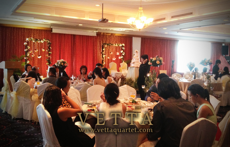 Music Wedding Quartet - CHIJMES - Orchid Country Club