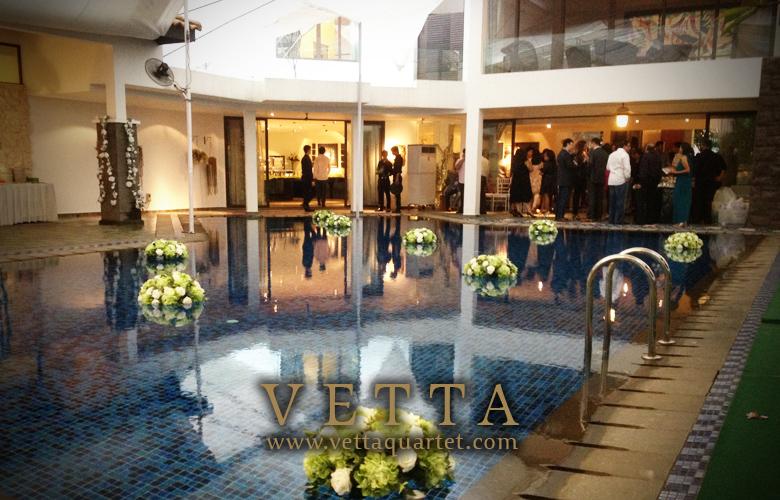 Performance Wedding Singapore - Quartet - Dalvey Estate