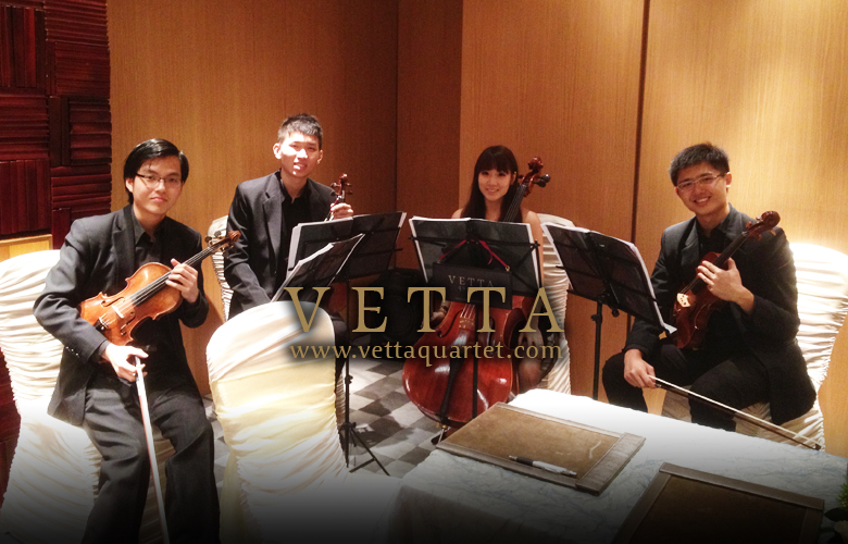 Wedding Music - String Quartet - Sentosa