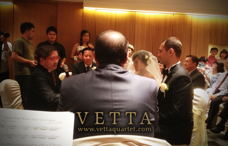 Quartet Performance - Movenpick Sentosa - Wedding Singapore