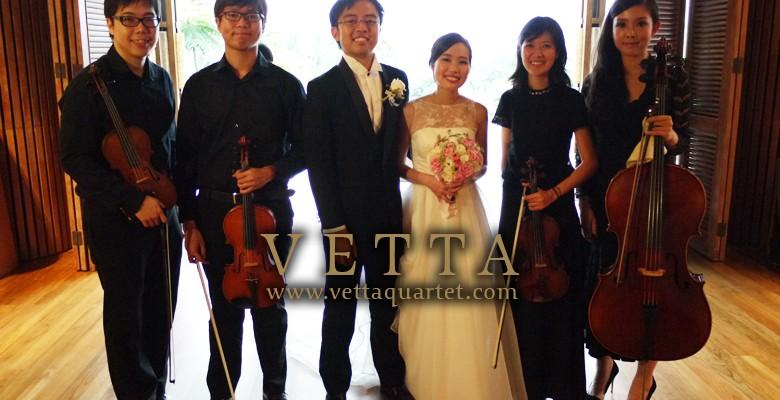 Wedding at Rasa Sentosa