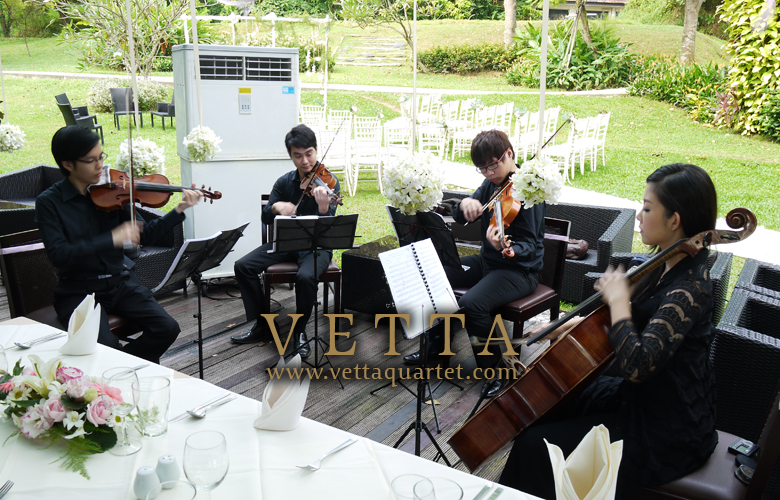 Suburbia Wedding - Music Performance - String Quartet