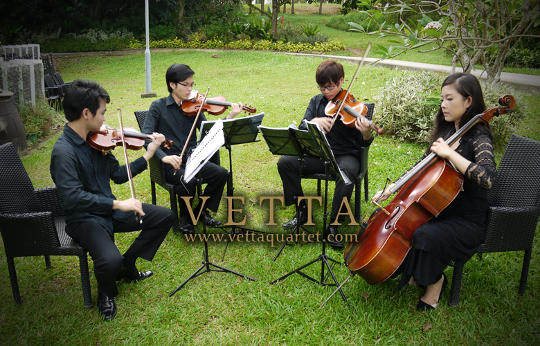 Performance at Suburbia - String Quartet - Wedding Performance