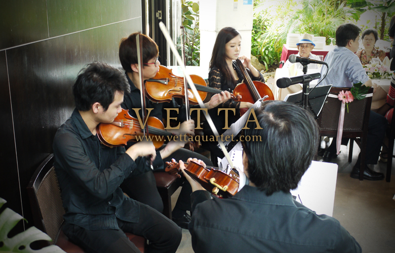Wedding Performance Singapore - Music Quartet - Suburbia