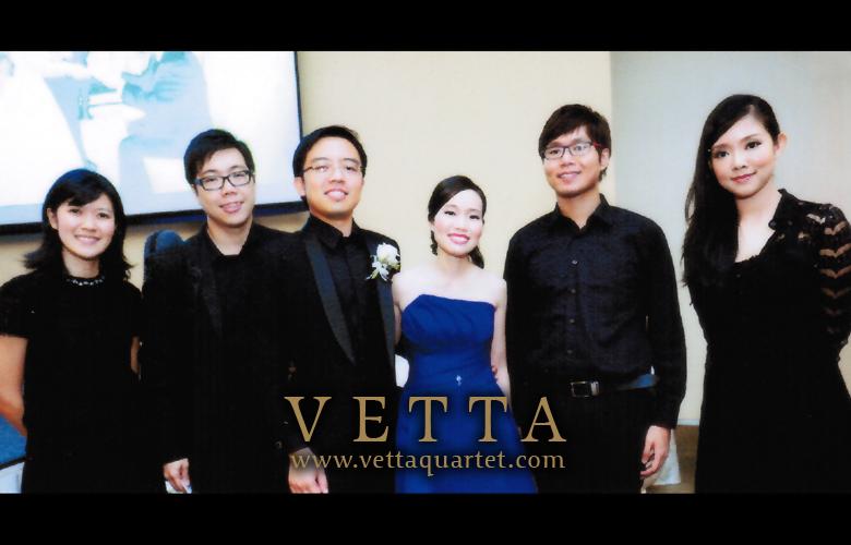Rasa Sentosa Wedding - Music Quartet Perofrmance