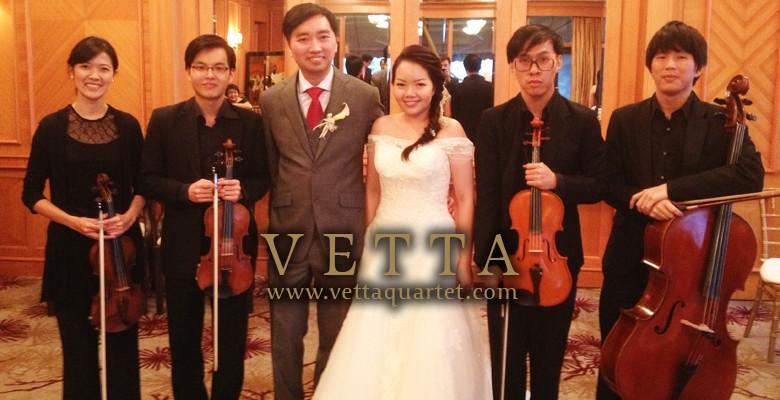 Wedding Solemnisation at Four Seasons Singapore