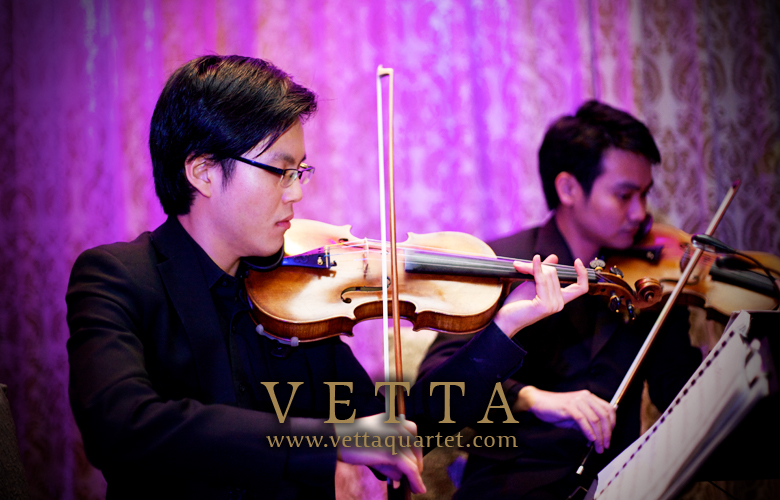 Fullerton Singapore Wedding Violinists